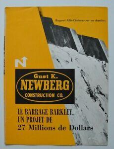 ALLIS-CHALMERS-Newberg-Barkley-Dam-1962-dealer-brochure-catalog-French-Canada