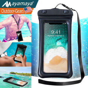 Floating Waterproof Bag Pouch For Cell Phone Underwater Cover Dry Case Universal