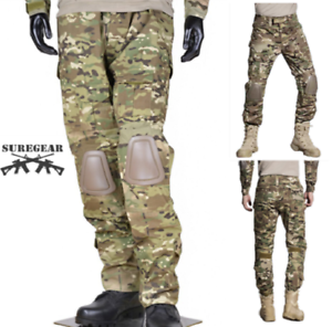MULTICAM Gen3 G3 Combat PANTS Military Tactical Trousers Airsoft Paintball MC
