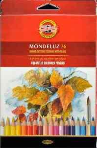 KOH-I-NOOR-Mondeluz-Akademie-Aquarellstifte-36er-Set-im-Kartonetui-K2184