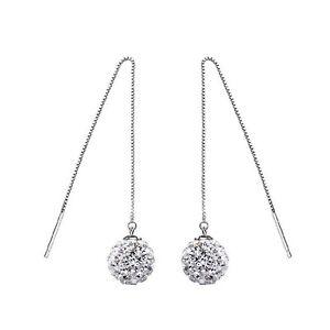 Luxury-Silver-Shamballa-Rhinestones-Dangling-Chains-Drop-Wedding-Earrings-E1092