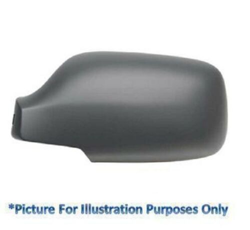 Right Driver Side OS Wing Mirror Cover Black With Kerb Lamp Land Range Rover