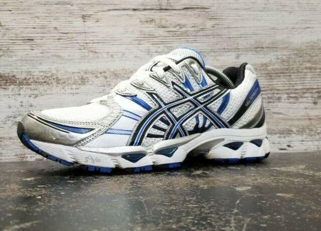 Vintage Mens Asics Gel Nimbus 12 Running Shoes SZ 9.5 M Used T045N Rare
