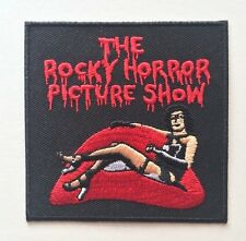 Rocky Horror Picture Show Square Embroidered Patch Iron on or Sew on
