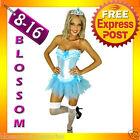 07018 Burlesque Blue Moulin Corset Tutu 8 10 12 14 16