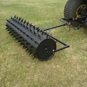 Drum-Spike-Aerator-60-034-Width-126-Spikes-40-Gallon-482-lbs-Commercial