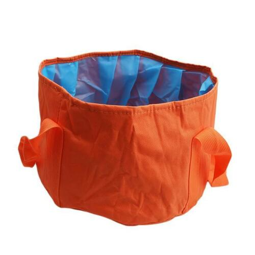 Portable Folding Wash Basin Foot Bucket Collapsible Bucket for Outdoor Travel KS