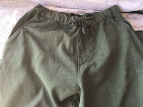Quicksilver pants swets size Med Two $14 Green