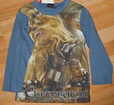 Langarm - Shirt  in Gr 116  Star Wars  + super + Langarmshirt Pullover Chewbacca