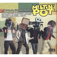 Meltin' Pot - OHM GURU JESTOFUNK GAZZARA BOSSA NOSTRA - CD DIGIPACK 1996 SEALED