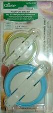 Pompon Set * Bommel Maker * PomPom Maker Clover NEU OVP -- 3126