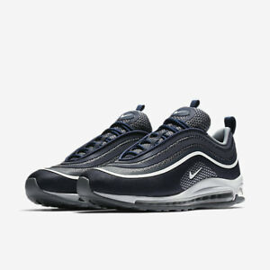 Nike-Air-Max-97-Ultra-17-Blu-Midnight-918356-400-Sneakers-Uomo-Donna-Original