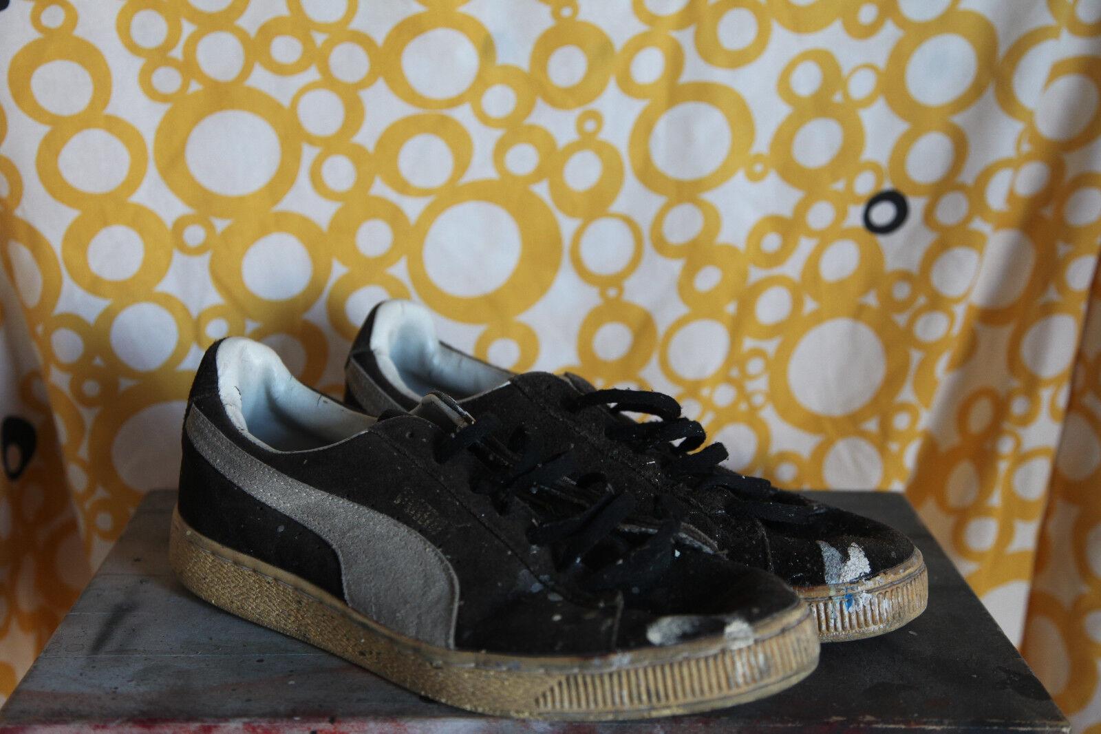 Puma Basket Black Sz US 10 early 90s Seasonal price cuts, discount benefits