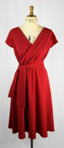 rubino con rubino Vestito Baylis maniche Knight a corte rosso gaxqUF8