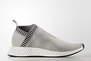 e60585e919fcd adidas Originals NMD CS2 PK Grey Pink Shoes BA7187 - SZ 10 - NEW