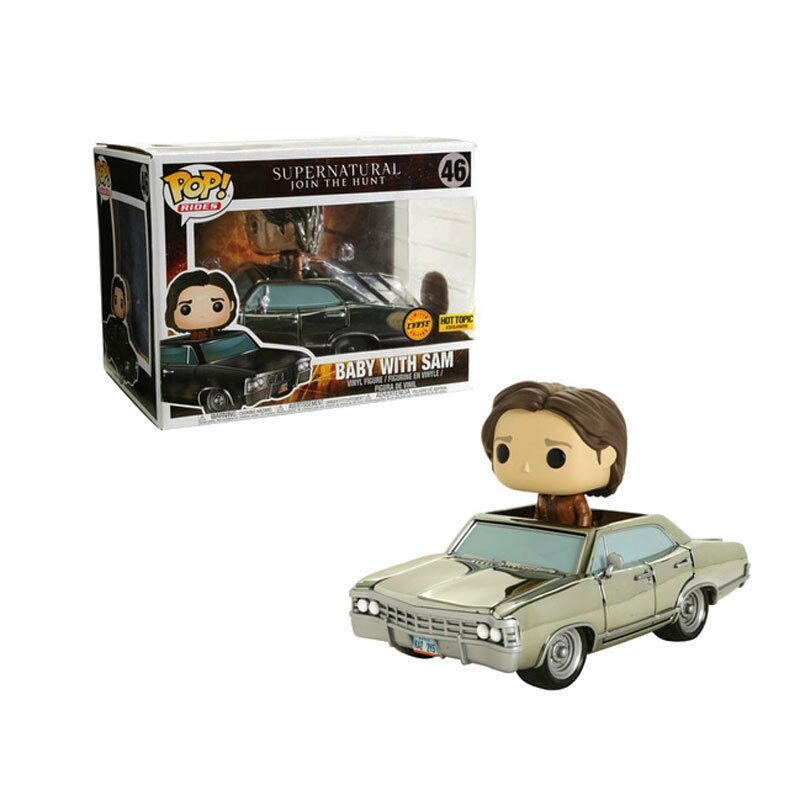 Supernatural Funko POP  Hot Topic Exclusive - Baby with Sam (Chrome Chase)
