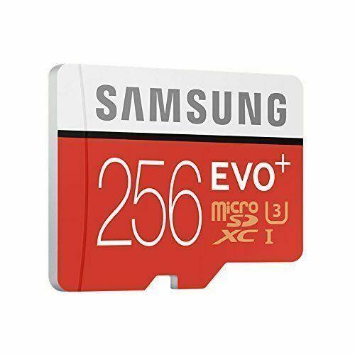 Samsung MB-MC256DAEU EVO Plus Micro SDHC UHS-1 256GB Memory