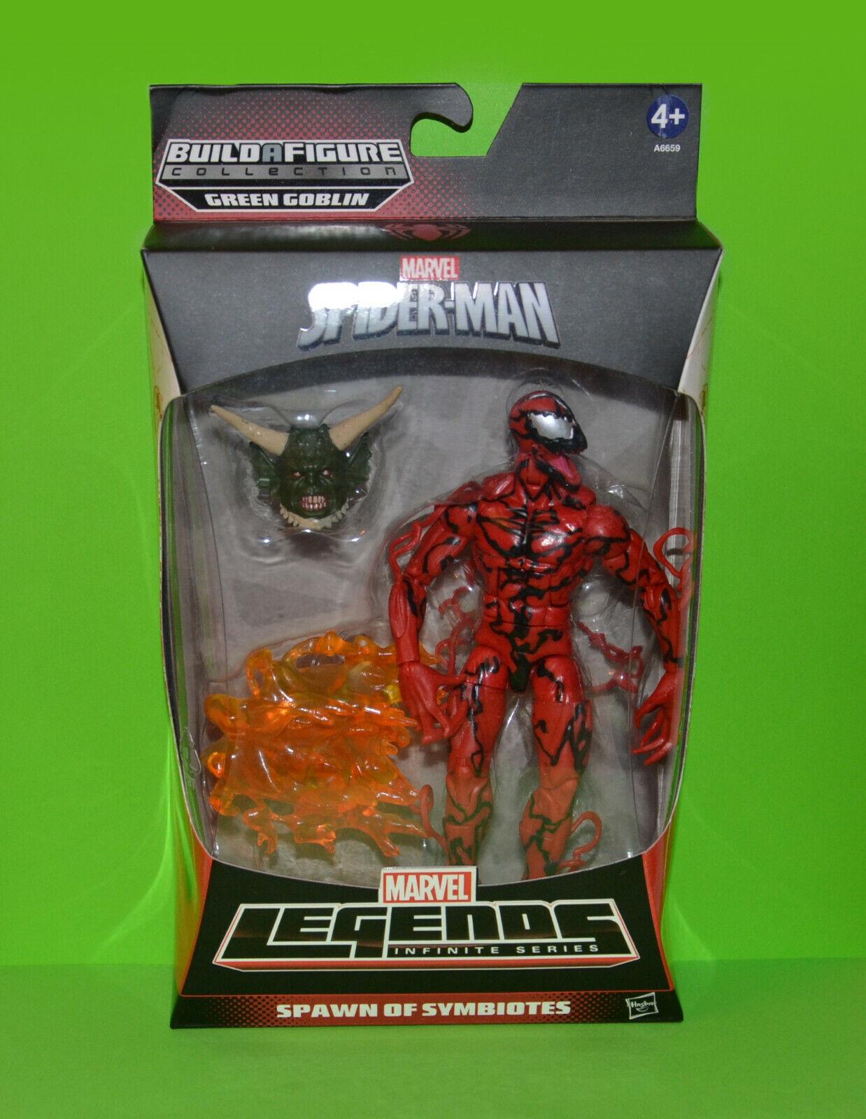 Hasbro Marvel Legends BAF - Carnage figure + Green Goblin's head (New)
