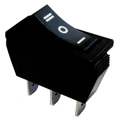 AERZETIX ON 3A//250V 1 position ON -OFF- Interrupteur commutateur contacteur bouton /à bascule noir SP3T