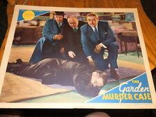 #9053A,Garden Murder Case Rare Lobby Card 1936