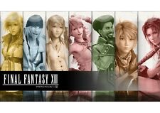 POSTER FINAL FANTASY 13 XIII LIGHTING SNOW VERSUS #27