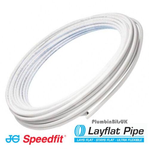 John Guest Speedfit Roll 15BPB-50C 15mm x 50mtr Coil Polybutylene LayFlat Pipe