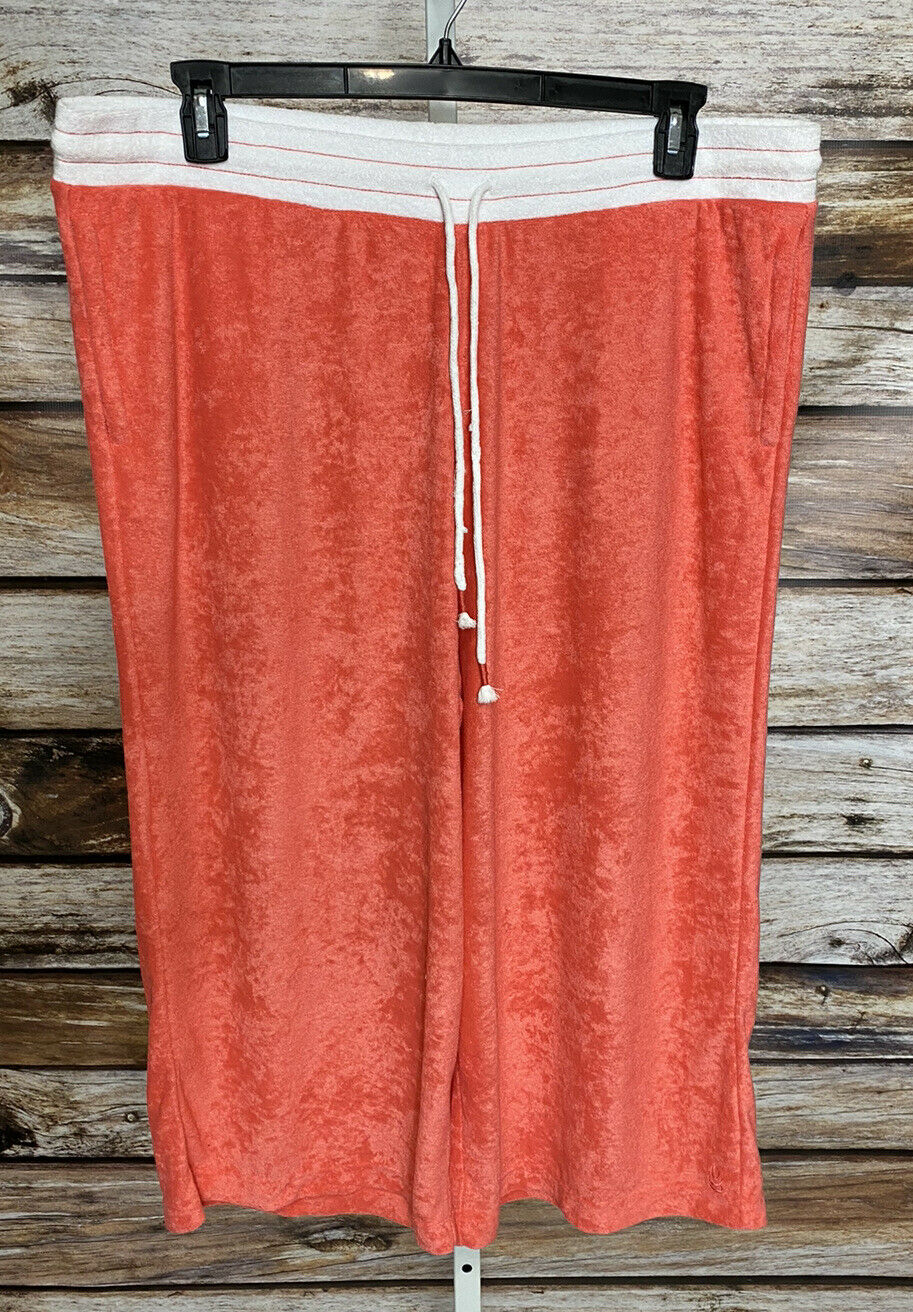 Cuddl Duds Baby Terry Gaucho Pants Womens Sz 1X T… - image 3