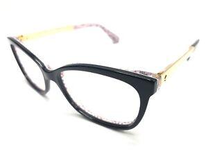 adf2ab1298a0 Kate Spade JODIANN Eyeglass Frames 0UYY 50-15mm Black Pattern Red ...