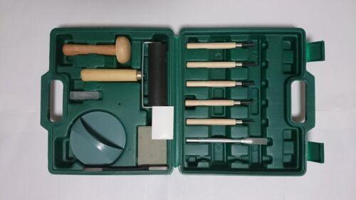 12 Pcs Portable Etching Intaglio Graphic Art Scribing Printmaking Tools in Box