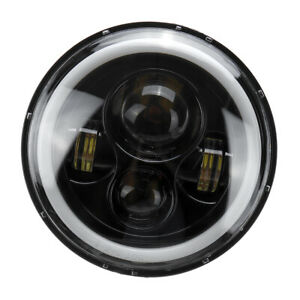 7-034-faro-LED-Halo-proiettore-Angel-Eye-DRL-per-Jeep-Wrangler-JK-TJ-LJ-E9