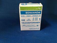 Edwards 598 Transformer 120V Primary 8V 16V 24V Secondary New in Box