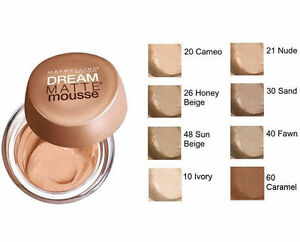 Maybelline-Dream-Matte-Mousse-Matte-Perfection-Foundation-CHOOSE-YOUR-SHADE