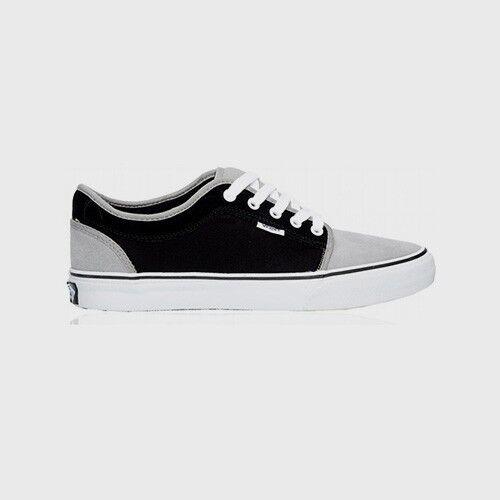 7ddeb4ceb8e49d VANS Chukka Low Grey Black White Skateboarding (189) Men s Shoes 8 for sale  online