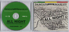 DAMIAN MARLEY All Night 2006 UK 1-track promo CD Stephen Marley