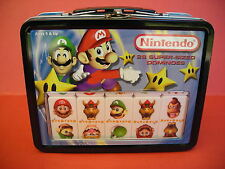 Nintendo Dominoes Set, in Tin Lunch Box MINT CONDITION, Collectible Rare