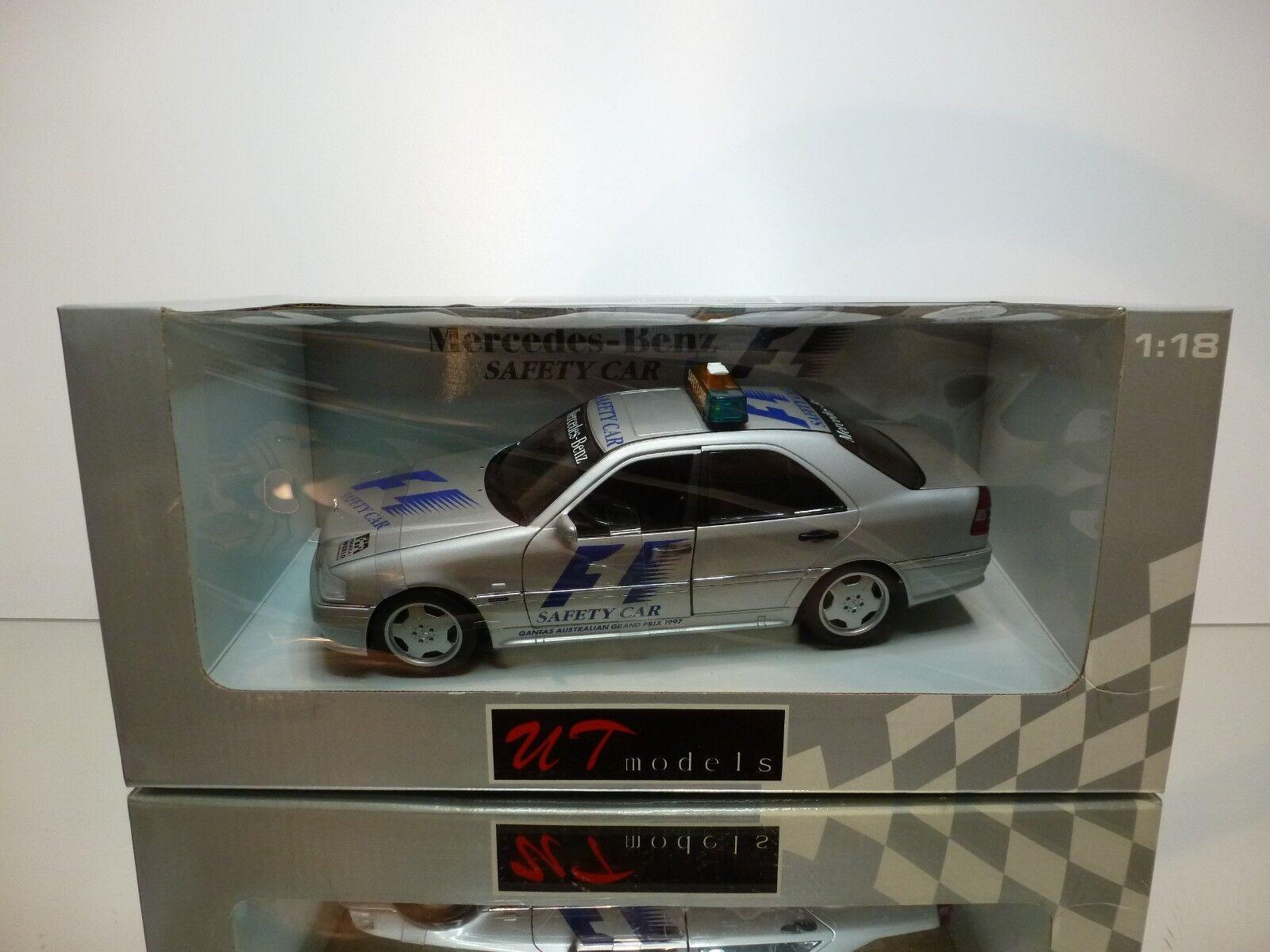 UT MODELS 26105 MERCEDES BENZ C AMG SAFETY CAR F1 1997 - 1 18 - EXCELLENT IN BOX