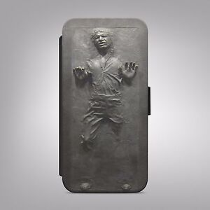 Han solo carbonite star wars leather flip wallet phone case cover image is loading han solo carbonite star wars leather flip wallet colourmoves