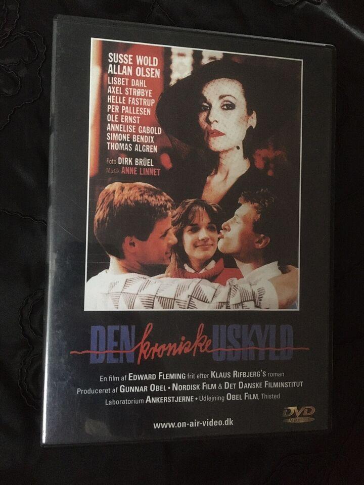 Den kroniske uskyld , DVD, drama