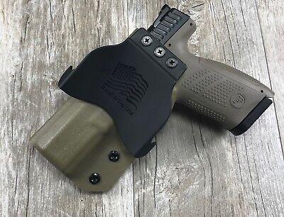 IWB Taco Holster CZ P10 C Compact FDE Retention Concealment Swift Draw kydex
