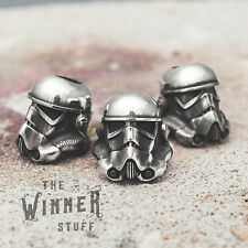Stormtrooper - knife lanyard paracord leather bead helmet star wars