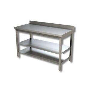 Mesa-de-110x60x85-430-de-acero-inoxidable-sobre-piernas-estanteria-planteadas-re