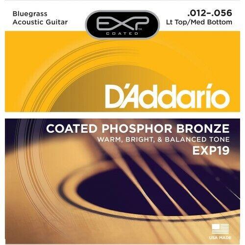 Daddario EXP19 Akustik Gitarrensaiten 012-056Neu