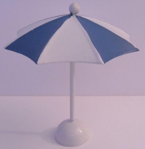 Figur Dekofigur Sonnenschirm weiß-rot ca 9 cm 9 cm // weiß-blau ca