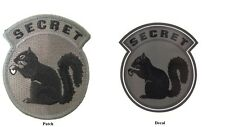 Military Black Ops Army Navy Secret Squirrel ACU Dark Patch Sticker Decal Combo