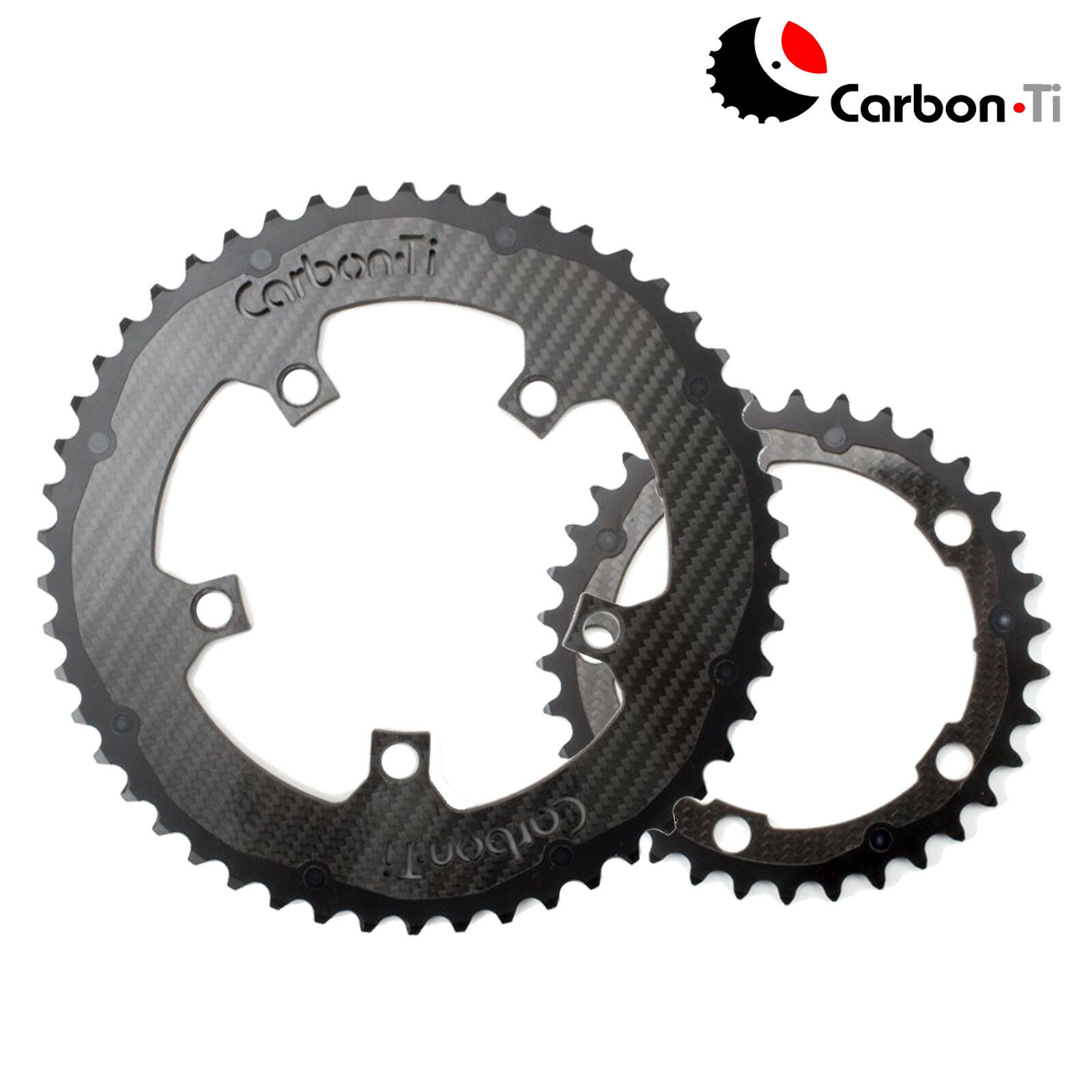 autobon Ti XautoboRing autobon chainring SET 110BCD x 5  OuterInner 5236T