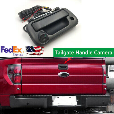 Tailgate Handle Car Backup Rear View Camera for 2008-2014 Ford F-250 F-350 Truck