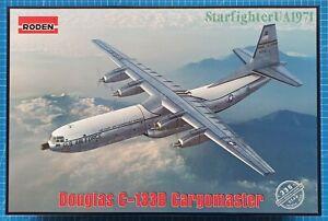 Roden 335-1//144 Air Force Aircraft kit Douglas C-133B Cargomaster U.S
