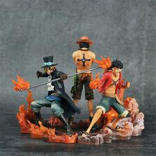BANPRESTO One Piece DXF BROTHERHOOD II Luffy Sabo Ace Figure Full Set F//S wTrack