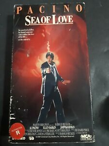 Sea-Of-Love-VHS-1989-Al-Pacino-Erotic-Thriller-Movie-Tapes-Ellen-Barkin
