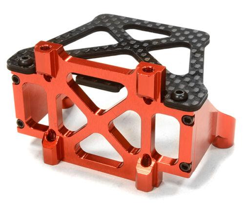 RC Car C26149RED Replacement Rear Bulkhead Brace for C26146 LCG Conversion Kit